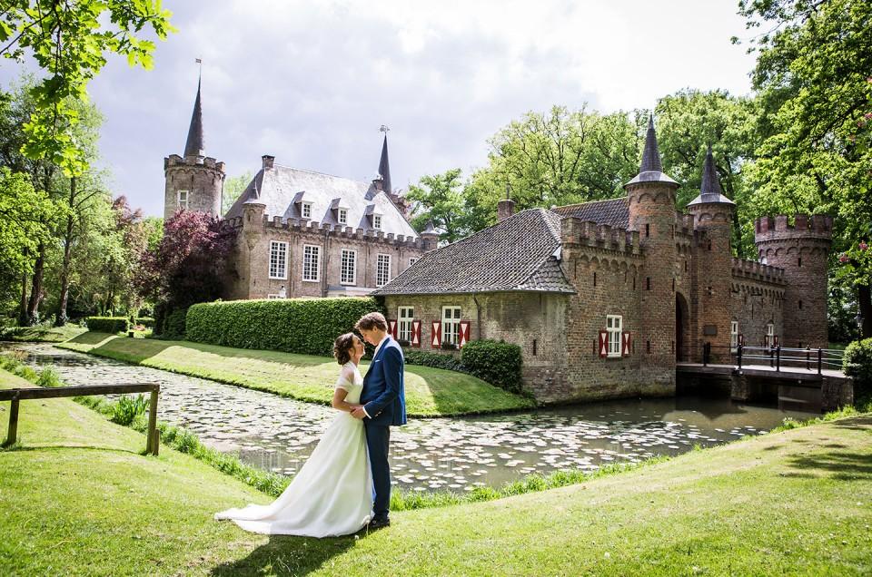 Lisanne + Vincent  |  Kasteel Henkenshage Bruidsfotografie