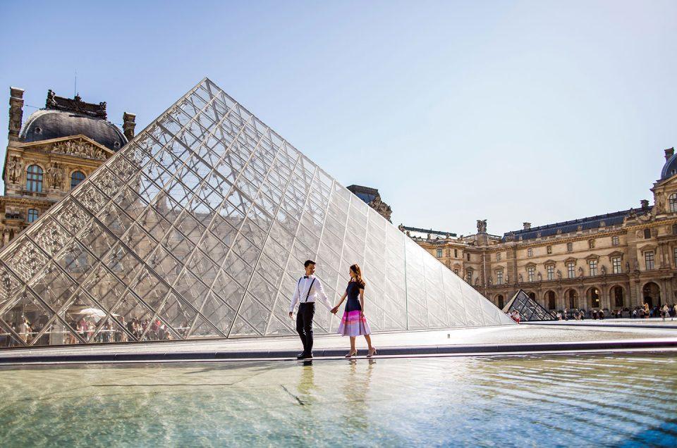 Margaret & Markus  |  Paris Prewedding Photoshoot