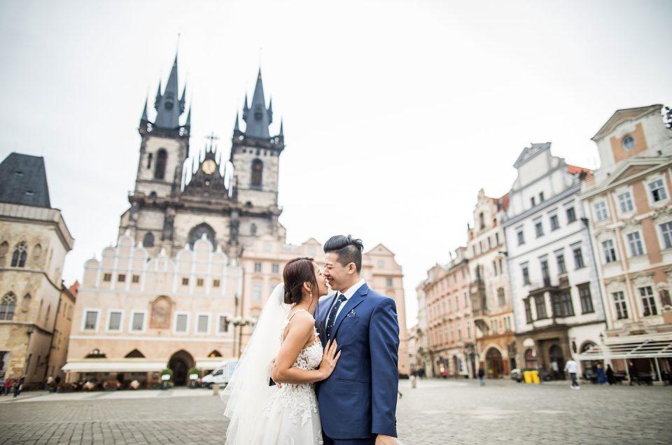 Tek & Cheata  |  Prague Prewedding Photoshoot