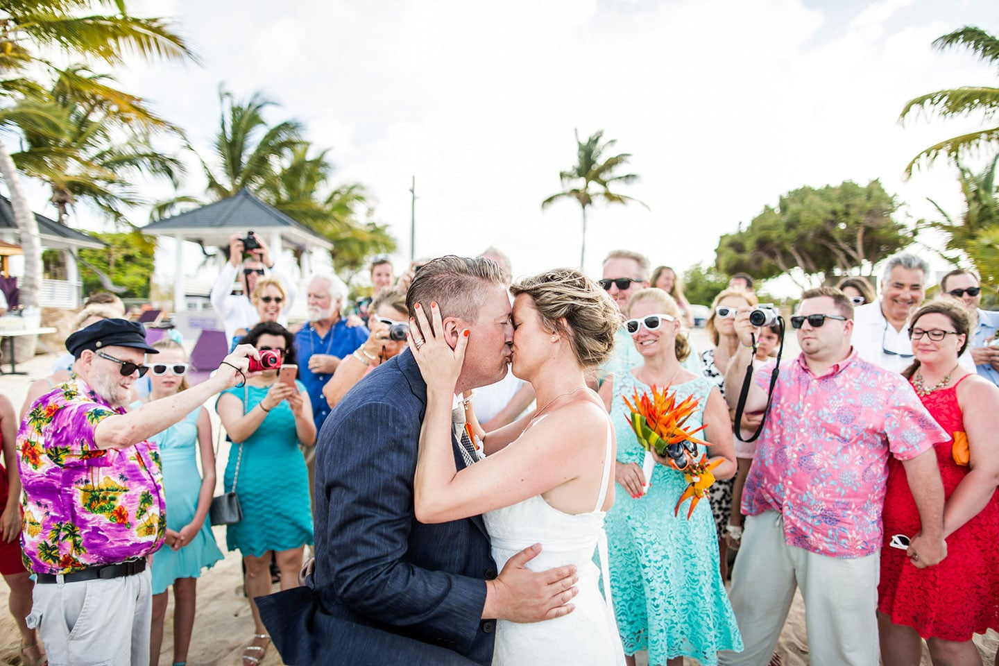 Sandra steve destination wedding st maarten caribbean for Best caribbean destination weddings