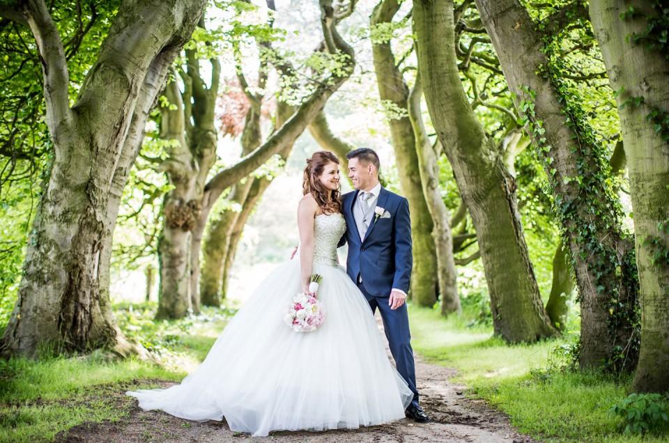 Sanne + Roy  |  Kasteel Amerongen Bruidsfotografie