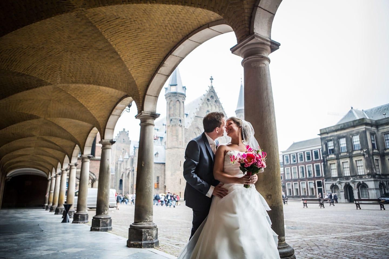 15-Den-Haag-binnenhof-bruidsfotografie-trouwfotograaf