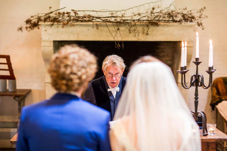 Trouw ceremonie Vlaamsche Spijcker