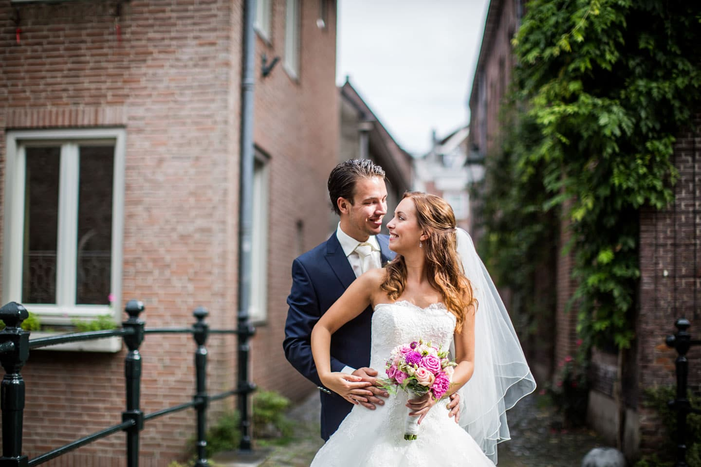 Bruidsfotografie Den Bosch Binnendieze
