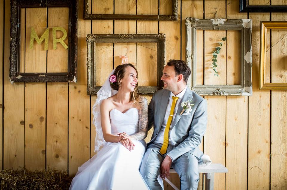 Daphne + Pieter | Het Roozenhuys Bruidsfotografie