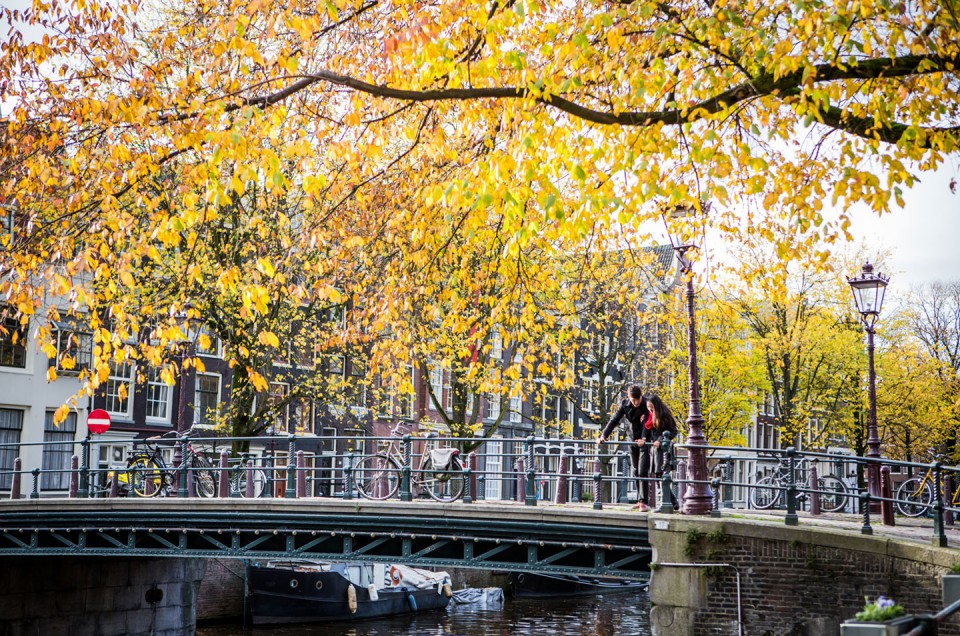 Li-Ching + Jeremy | Amsterdam Love Shoot