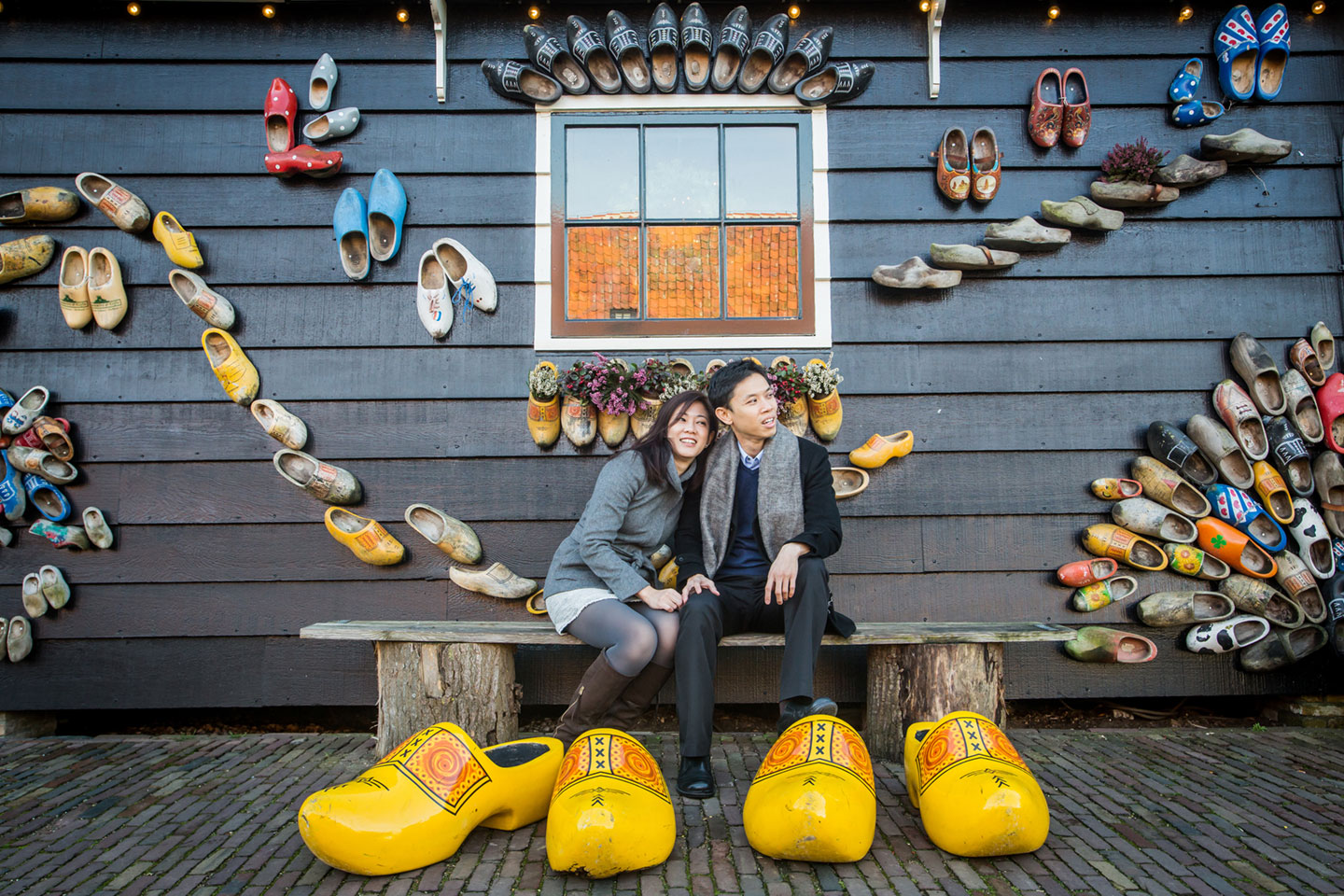 02-Zaanse-Schans-Amsterdam-prewedding-love-shoot