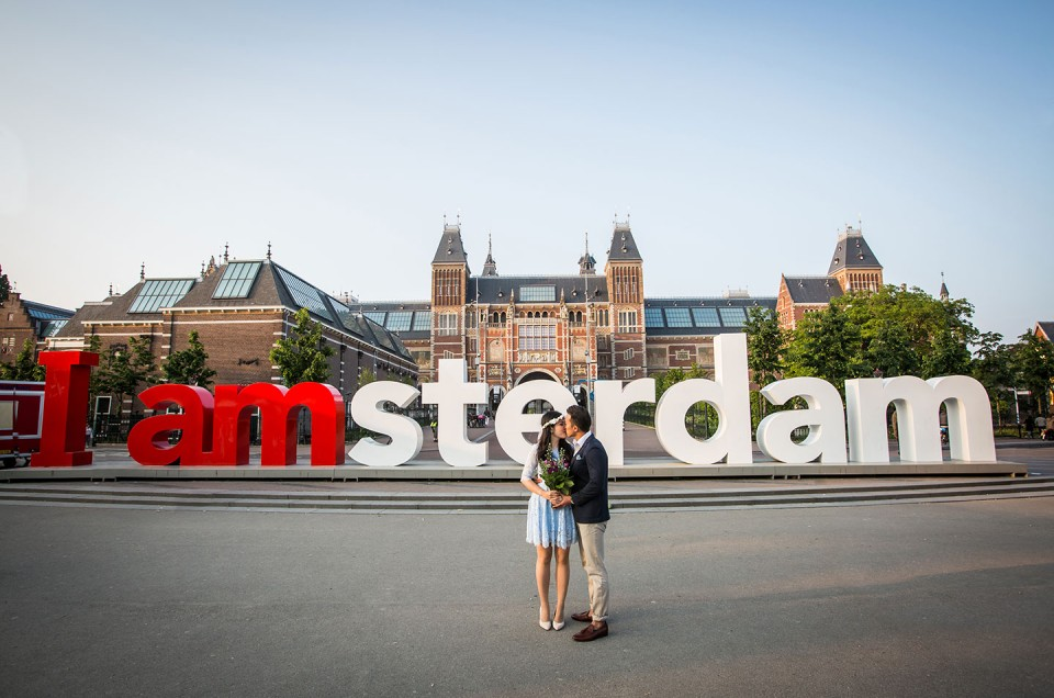 Ying Shing + De Yong |  Amsterdam Pre-Wedding Photoshoot