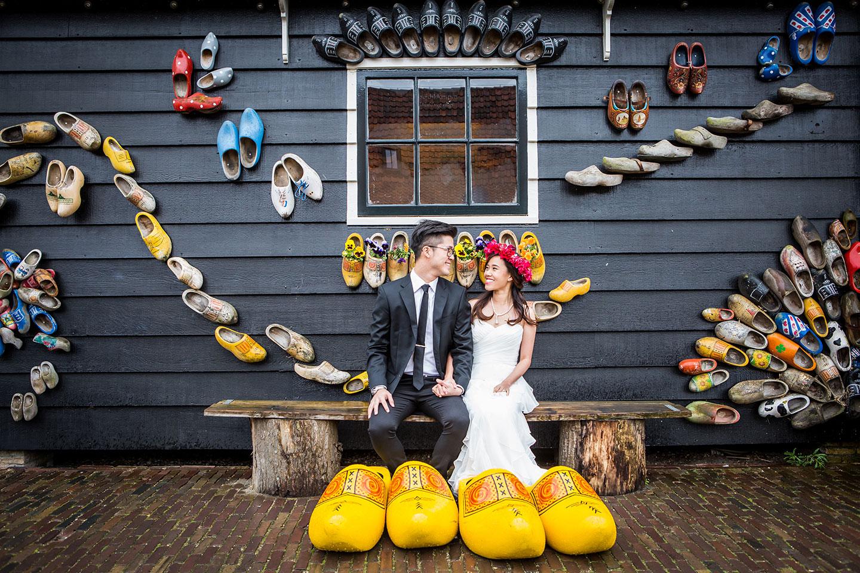 13-Zaanse-Schans-prewedding-photograher