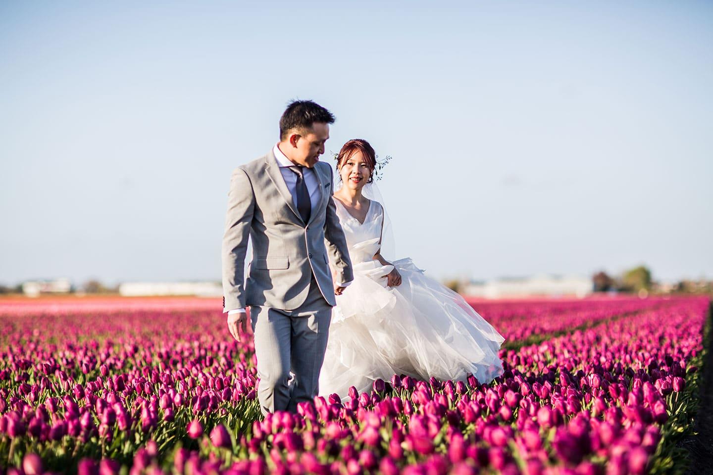 18-Keukenhof-pre-wedding-tulips