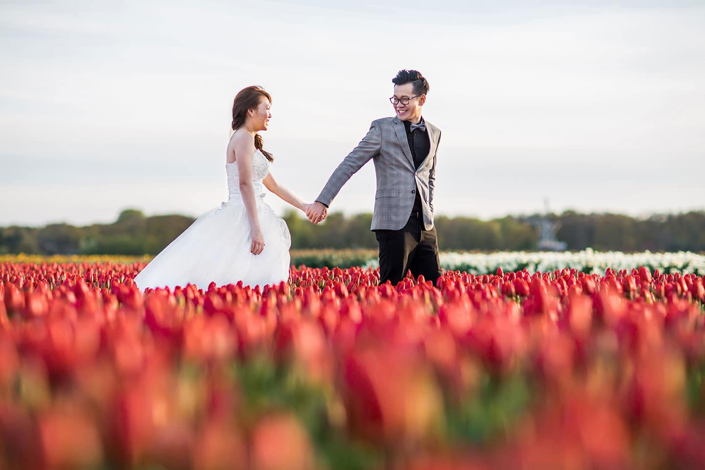 Pre wedding shoot Keukenhof