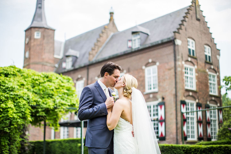 Bruidsreportage bij Kasteel Maurick in Vught, regio 's-Hertogenbosch