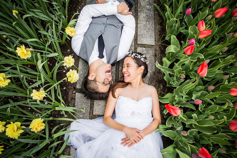 Wedding Photography flower fields Holland
