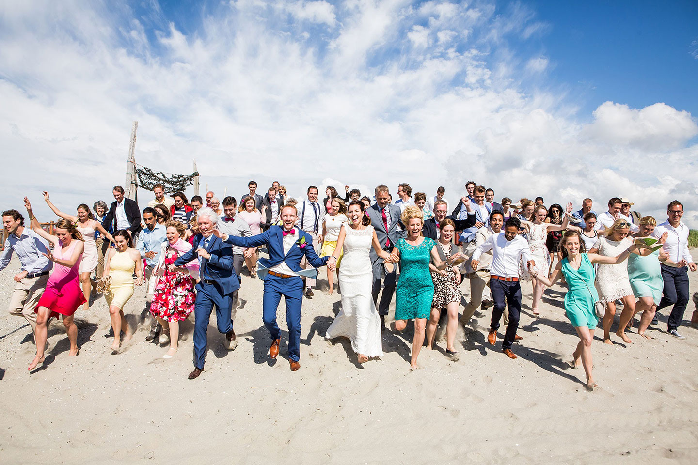 Bruidsfotografie Elements Beach 's-Gravenzande