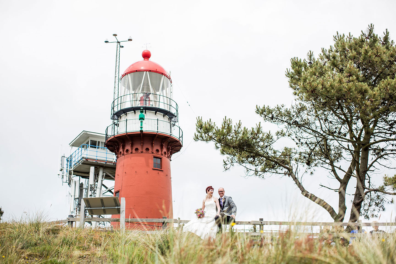 Bruidsfotografie Vlieland Vuurtoren