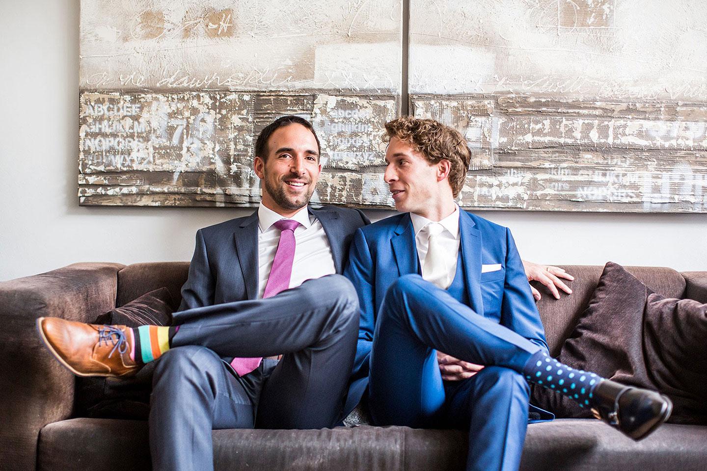 Homo huwelijk Bruidsfotografie