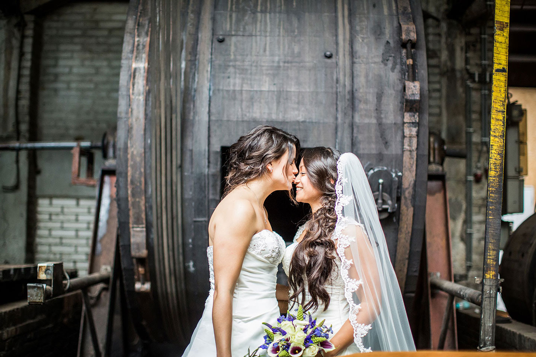 Lesbische bruiloft Tilburg
