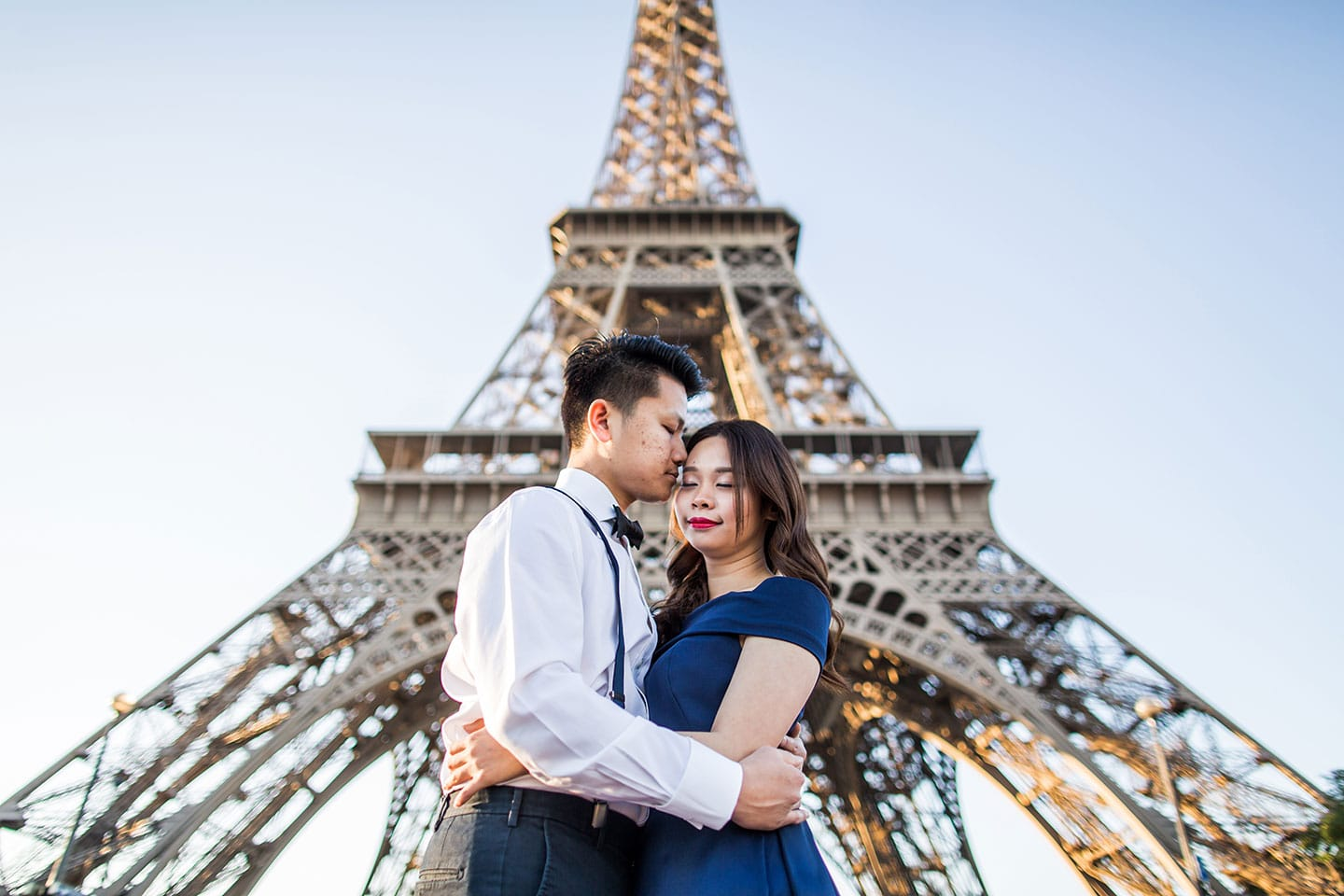 Parisian elopement Paris France