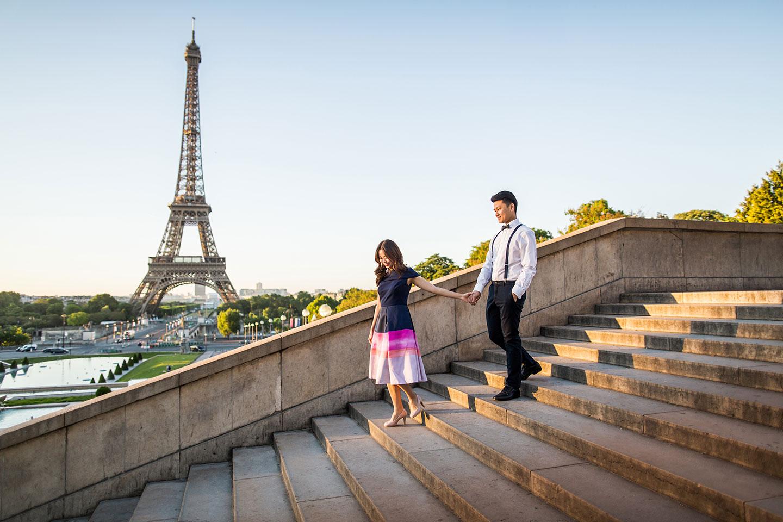 Eiffel Tower Pre wedding shoot