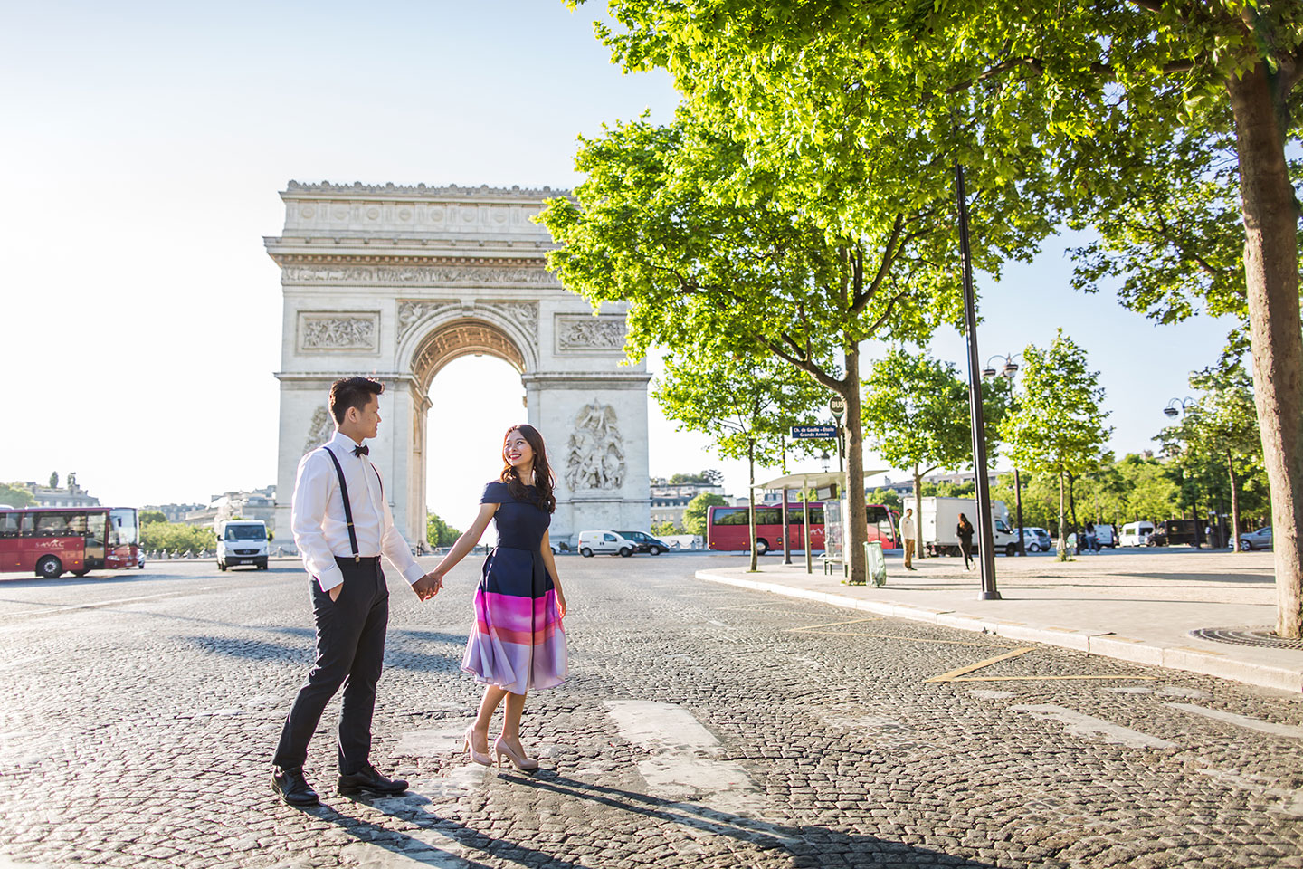 Overseas pre wedding photography