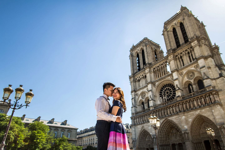 Pre wedding Paris Notre Dame