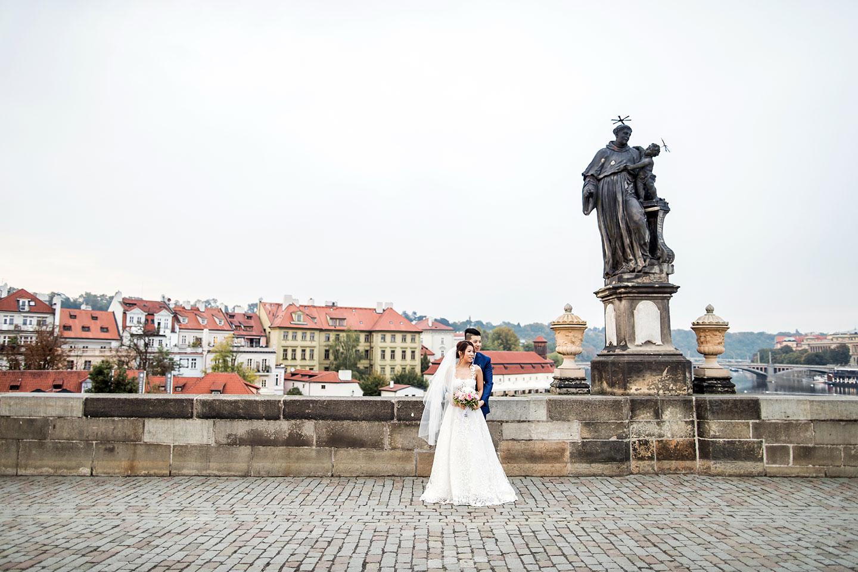 Engagement shoot in Prague