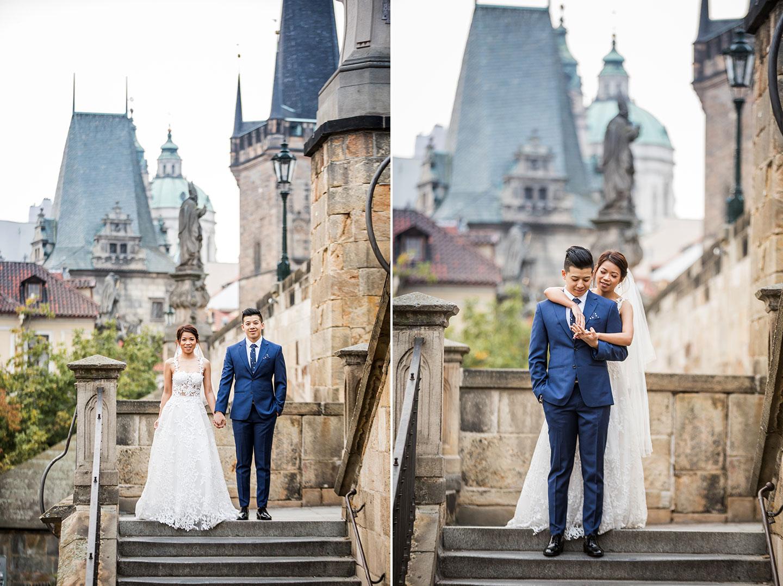 Pre wedding overseas in Prague