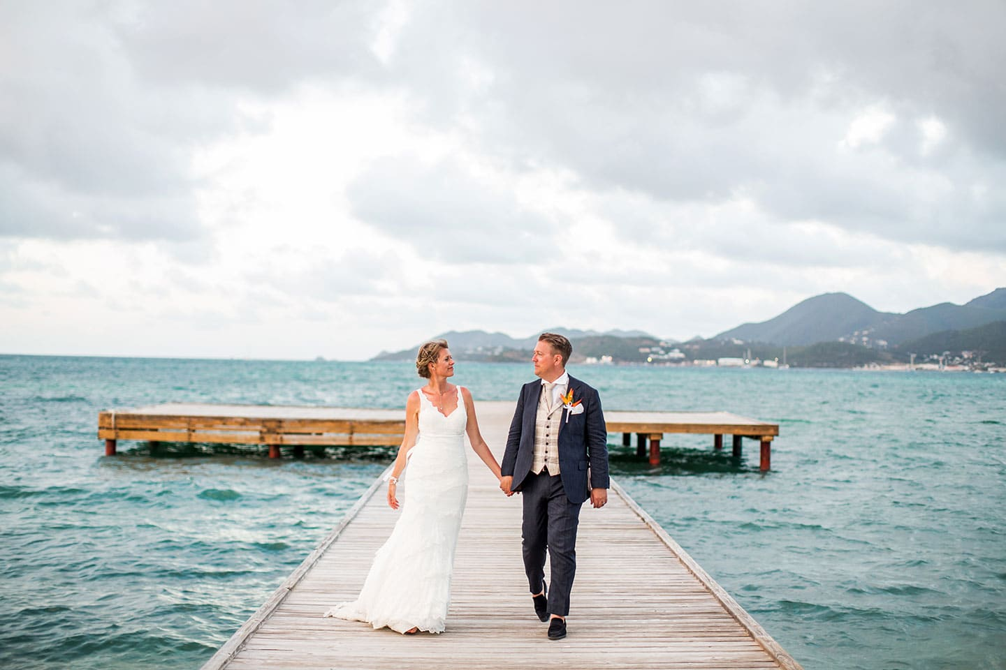 Destination wedding St. Maarten Caribbean