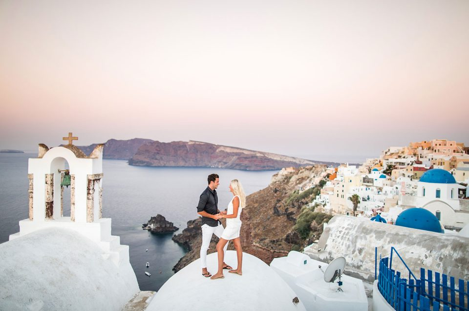 Sterre + Paul  |  Santorini Love Shoot