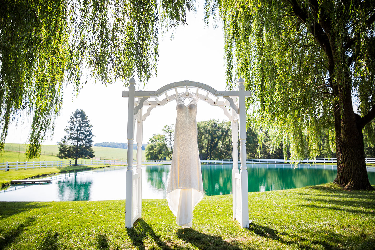 Wedding Pond View Farm Maryland