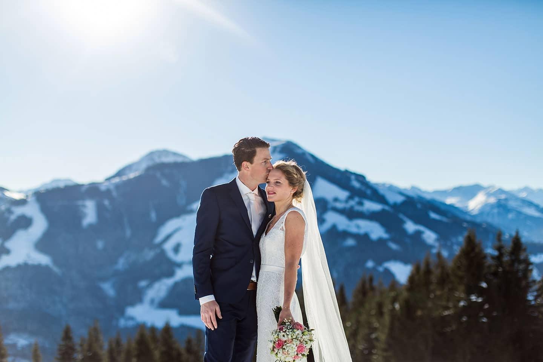 Bruidsfotograaf Oostenrijk Sneeuw