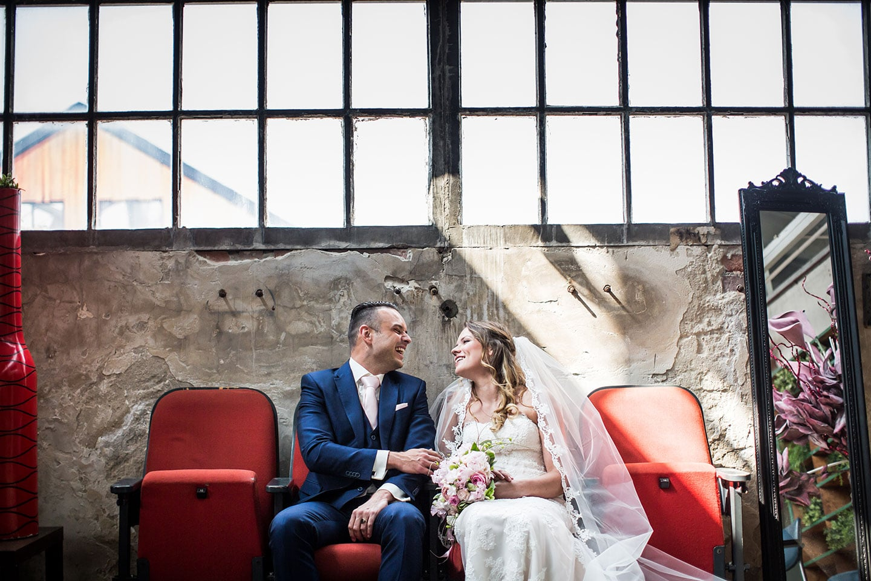 Bruidsfotografie Lijmfabriek Delft
