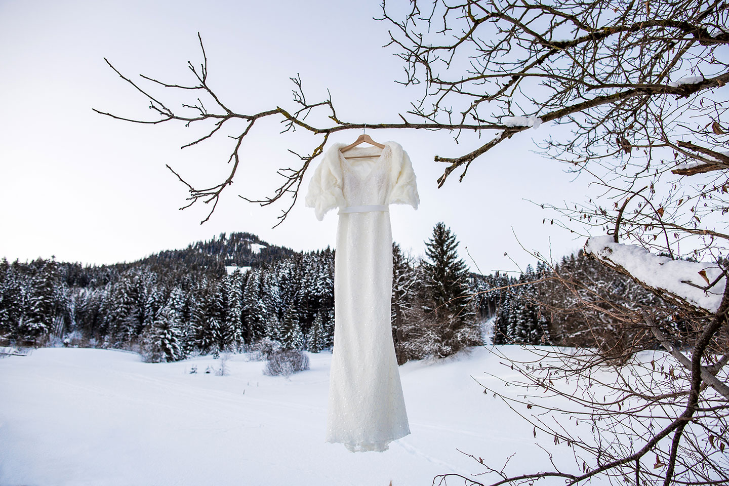 Destination Winter wedding Austria Alps