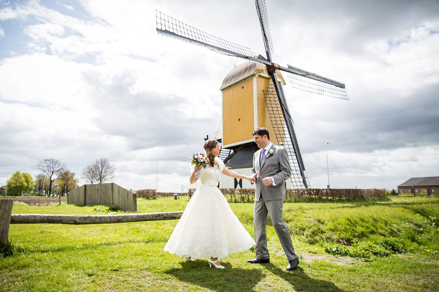 Wedding Photographer Netherlands Windmill