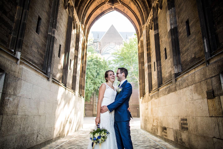 Bruidsfotografie Dom Toren in Utrecht