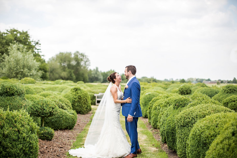 Bruidsreportage bij Domaine d'Heerstaayen