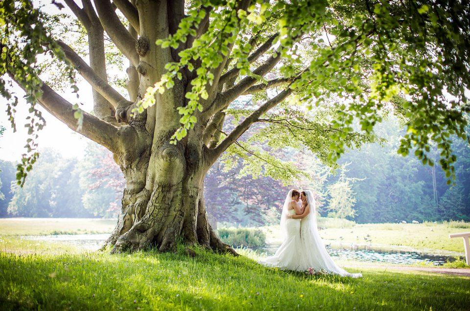 Ruth + Abi  |  Orangerie Elswout Bruidsfotografie