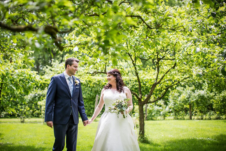 Buiten trouwen bij Kasteel Geldrop