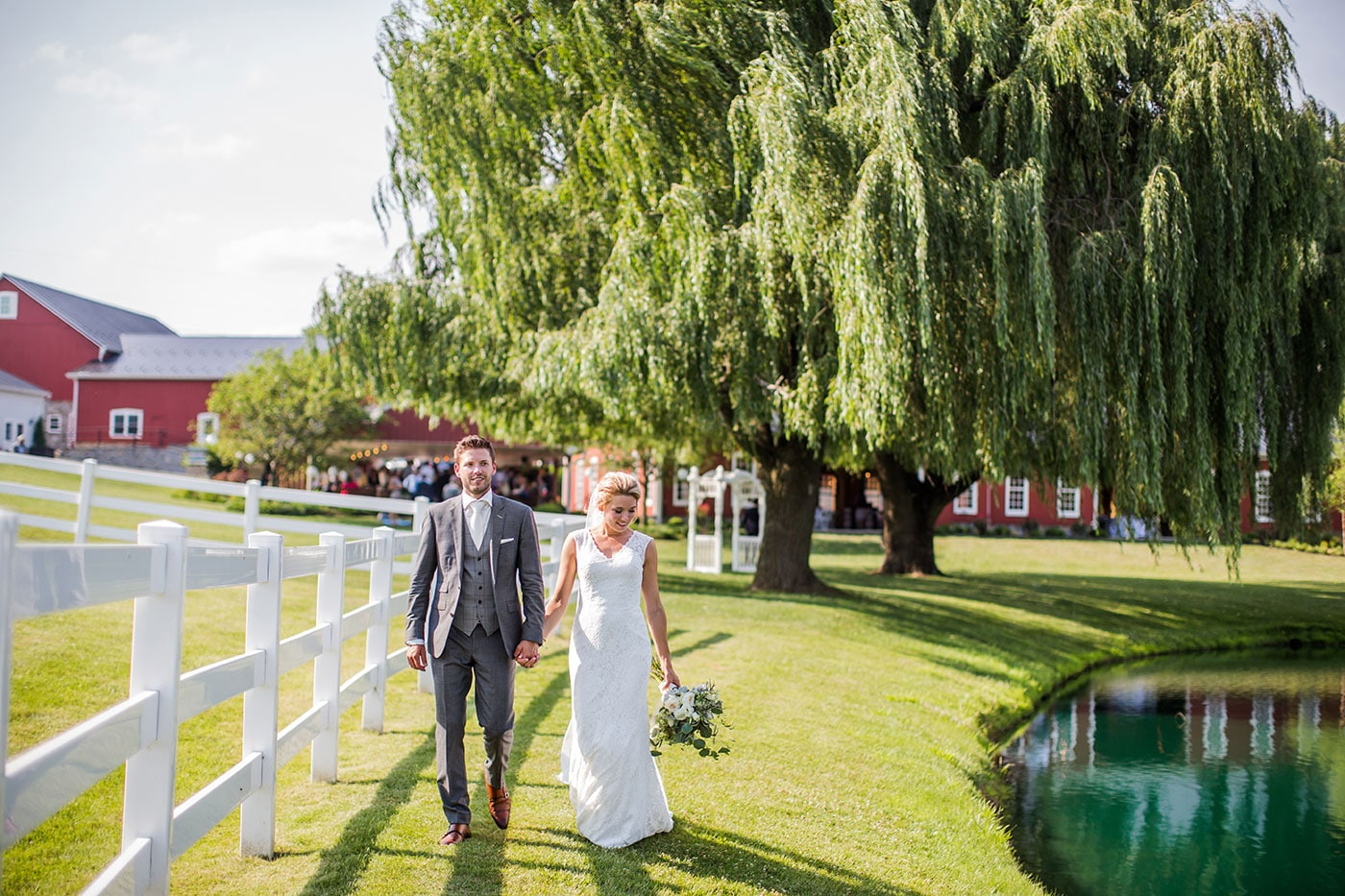 Wedding Photography Pond View Farm