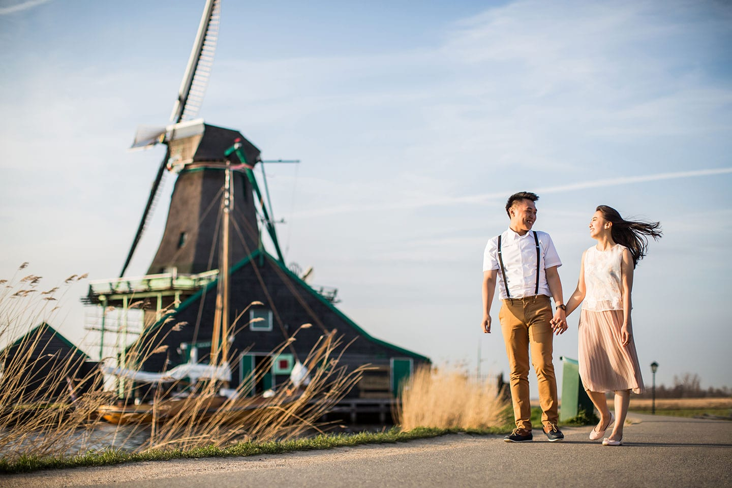 Zaanse Schans Prewedding Photoshoot