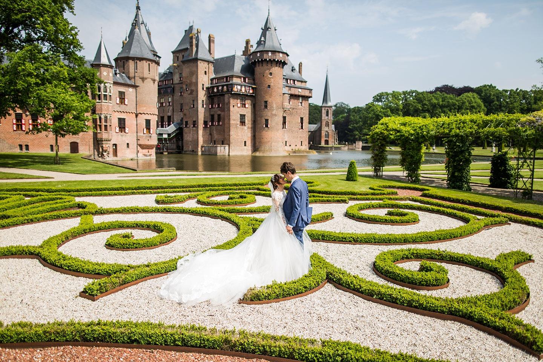 Bruidsfotograaf Kasteel de Haar