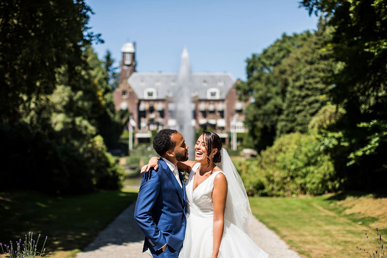 Kasteel de Hooge Vuursche Bruidsfotografie