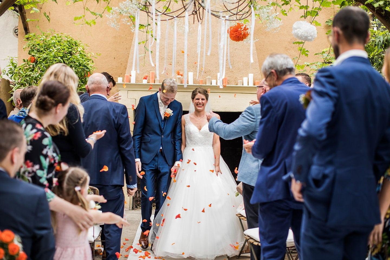 Huwelijk Domaine d'Heerstaayen