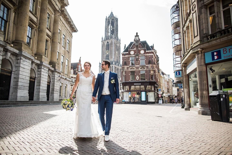 Bruidsfotografie Utrecht centrum