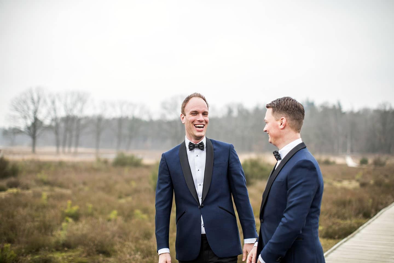 Bruidsfotograaf homohuwelijk