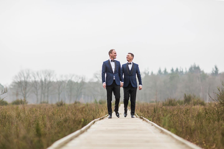Fotograaf gay bruiloft
