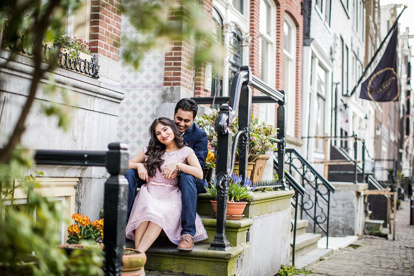 Amsterdam Holland prewedding photoshoot
