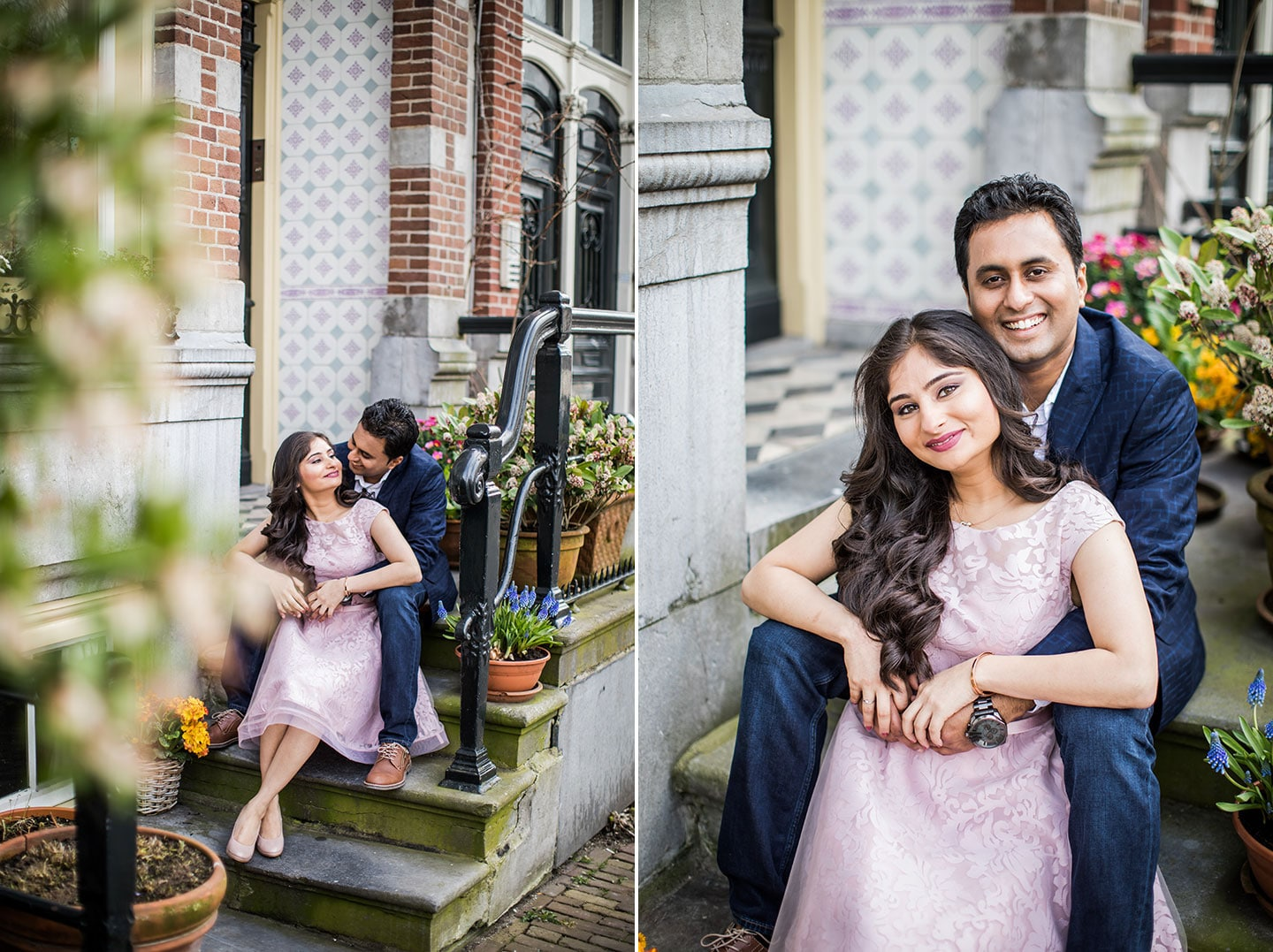 Indian prewedding shoot in Amsterdam, Holland