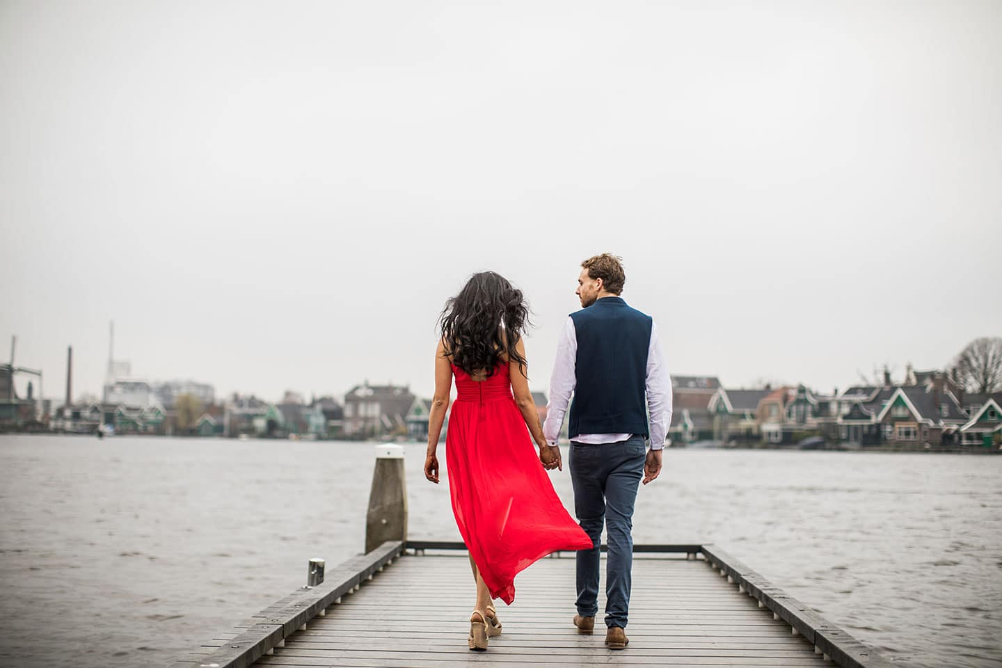 European prewedding photography Indian couple