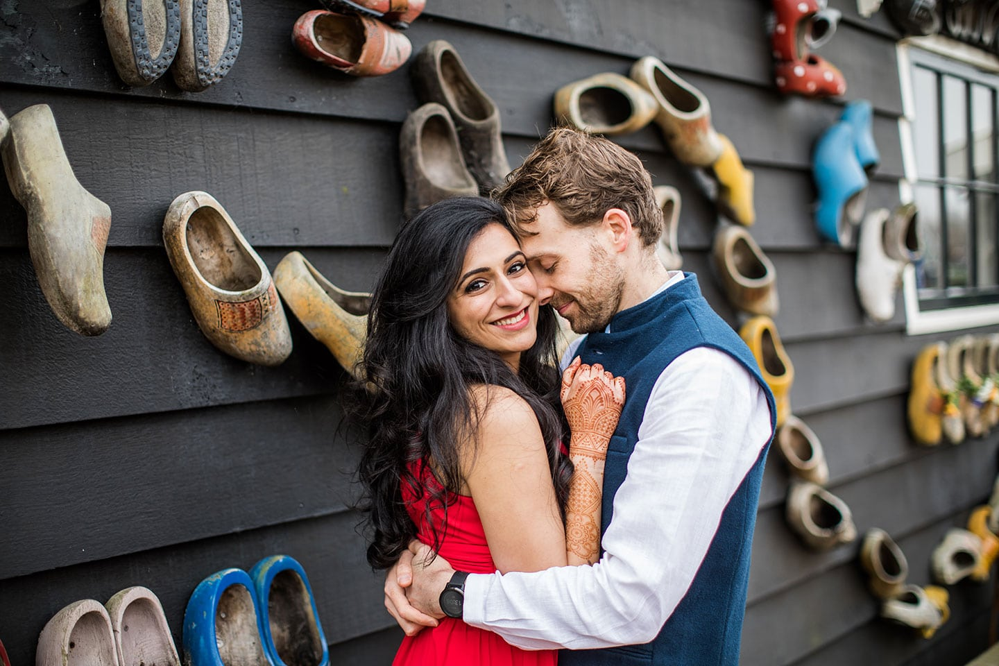 Indian prewedding Europe photoshoot